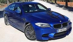 Essai BMW M5 sur route