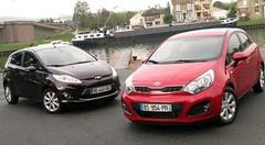 Essai Ford Fiesta 1.6 TDCi 95 ch vs Kia Rio 1.4 CRDi 90 ch : Sur un air de fête