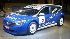 Dacia Lodgy, sur le Trophée Andros avant sa première mondiale au Salon de Genève 2012