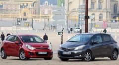 Essai Toyota Yaris vs Kia Rio : les décomplexées