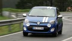 Essai Renault Twingo 2 restylée 2012 : les toutes premières images