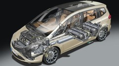 Autonomie accrue pour l'Opel Zafira Tourer GNV