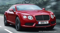 Bentley Continental : le dinosaure se modernise