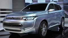 Mitsubishi Outlander : une version hybride rechargeable en préparation