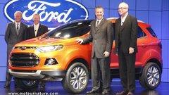 Ford Ecosport : un nouveau petit SUV urbain