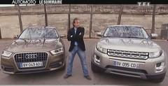 Emission Automoto : Audi Q3 vs Range Rover Evoque, dossier radars