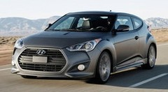 Premières photos officielles du Hyundai Veloster Turbo