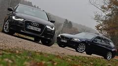 Essai Audi A6 Avant 3.0 TDI Quattro 245 ch vs BMW Série 5 530d Touring xDrive 258 ch : Polyvalence premium