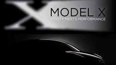 Tesla Model X : premier teaser