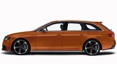 Audi RS4 : un V8 de 450 ch pour Genève !