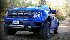 Essai Ford F150 Raptor SVT