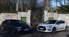 Essai Citroën DS4 vs Honda Civic : apprentis premium