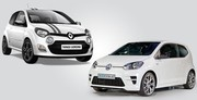 Volkswagen Up GT contre Renault Twingo RS : bouillants cubes