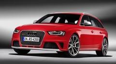 L'Audi RS 4 Avant présentée au salon de Genève