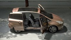 La Ford B-Max ouvre ses portes antagonistes