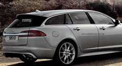 Jaguar XF Sportbrake : fuite de photos officielles