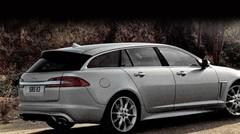 Jaguar XF Sportbrake, photos en fuite