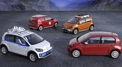 Quatre concepts Up! sur le stand VW