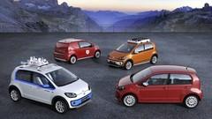 Quatre concepts à Genève sur base de Volkswagen up!