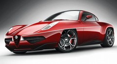 Toutes les photos de la Touring Superleggera Disco Volante 2012