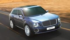 Bentley EXP 9 F : En terre inconnue