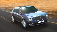Bentley EXP 9 F : Bentley s'essaie au SUV
