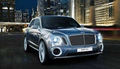 Bentley EXP 9 F : L'aristo devient bling-bling !