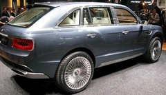 Bentley EXP 9F, char de luxe