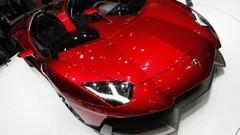 Lamborghini Aventador J, létal gravillon