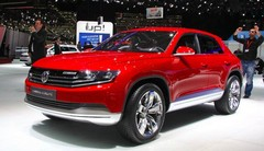 Volkswagen Cross Coupé Concept : TDI plug-in hybrid inside !
