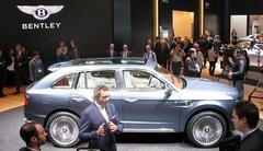 Le SUV Bentley sera redessiné