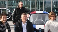 Renault Twizy par le XV de France