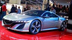La Honda NSX Concept en détails