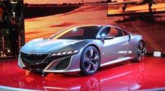 2012 : Honda NSX Concept, retour de la légende nipponne