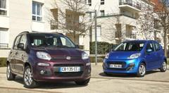 Essai Fiat Panda vs Peugeot 107 : les portes de la gloire