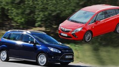 Essai Ford Grand C-Max 2.0 TDCi 163 ch vs Opel Zafira Tourer 2.0 CDTi 165 ch : Taille patron