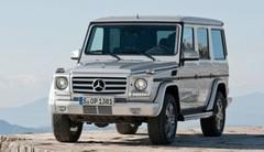 Petit lifting pour le Mercedes Classe G