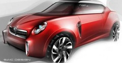 MG Icon : crossover compact sauce chinoise