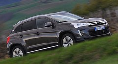 Essai Citroën C4 Aircross 1.8 HDi 150 ch 4x4 Exclusive : Chevrons de plein air