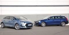 Essai Citroën DS5 HDi 160 vs Volvo V60 D3 : tout pour le style