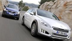 Essai Peugeot 508 RXH vsVolvo XC60 D5 AWD : L'aventure au coin de la rue