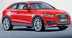 Audi Q2 : le Mini Countryman en point de mire