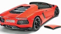 La Lamborghini Aventador Roadster aura droit à un toit en dur
