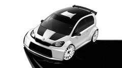 Skoda Citigo : une version rallye sous forme de concept au Wörthersee 2012