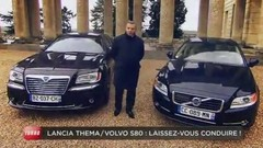 Emission Turbo : Audi A6 Allroad, Volvo S80 vs. Lancia Thema, Festival Mini United