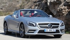 Essai Mercedes SL 500 BlueEfficiency : Force One