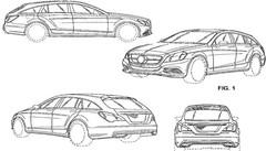 Mercedes CLS Shooting Brake : des croquis évoquent son style