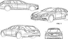 Premières esquisses de la Mercedes CLS version break de chasse