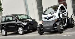 Essai Renault Twizy 45 vs Dué First : comment rouler sans permis, sans se ruiner