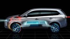 Mitsubishi Outlander : une version Plug-in Hybrid dévoilée au Mondial de Paris 2012